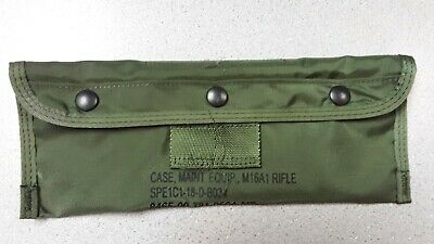 $4 • Buy M-16 Army Rifle Maintenance Cleaning Kit Pouch Only 9465-00-781-9564 NEW