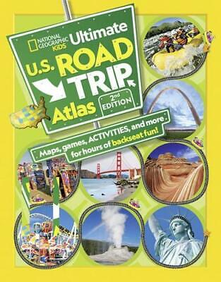 NGK Ultimate U.S. Road Trip Atlas By Crispin Boyer (author) • 7.05£