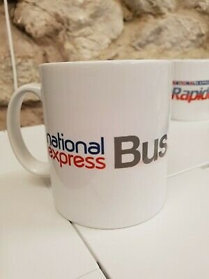 National Express Bus Logo And Graphic Cup / Mug • 9.99£