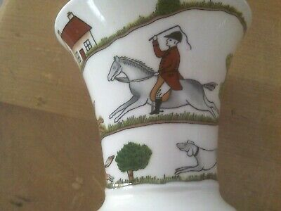Coalport Hunting Scene Fine Bone China Small Posy Vase  • 12£