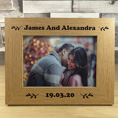 £7.99 • Buy PERSONALISED Photo Frame For Couple Anniversary Christmas Gift For Him Her