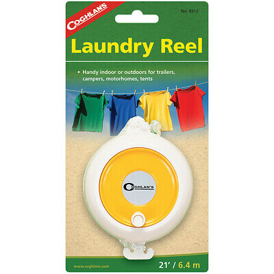 Coghlan's Laundry Reel, 21' Portable Clothesline, Adjustable Nylon Clothes Line • 5.61£