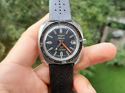 £1077.82 • Buy Vintage Longines Automatic Ultra-Chron Steel Diver 1960's All Original
