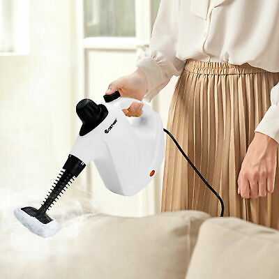 £25.49 • Buy Handheld Steam Cleaner Portable Steam Cleaning Machine W/ 9 PCS Accessories