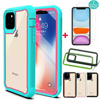 AU20.20 • Buy For Apple IPhone 11,11 Pro Max Slim Armor Case Cover + Glass Screen Protector