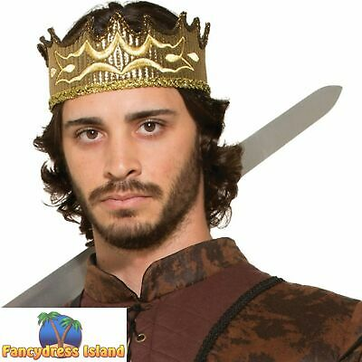 £7.69 • Buy GAME OF THRONES KING MEDIEVAL FANTASY COSPLAY CROWN - Fancy Dress Accessory