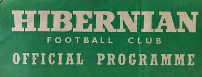 Hibernian Football Club Home Programmes -*Choose From List*- Discount Available! • 1.95£