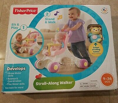 £49.63 • Buy Fisher Price STROLL ALONG WALKER NIB Stand And Walk