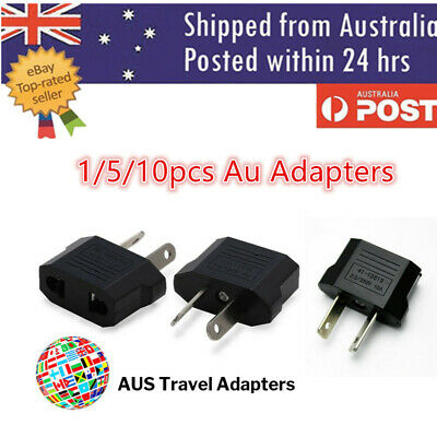 AU3.70 • Buy USA US EU JAPAN ASIA To AU Australia Plug AC Power Adapter Travel Converter #2