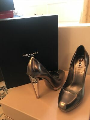 Ysl Chrome Mirror Heal High Heels  • 80£