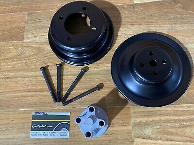 AU265 • Buy New Reproduction Ford Fairlane 302 351 393 408 Cleveland Pulley Set ZC ZD ZF ZG