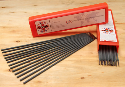 99% Pure Nickel Cast Iron Welding Rods Electrodes 2.6, 3.2mm MMA Stick, Steel  • 7.32£
