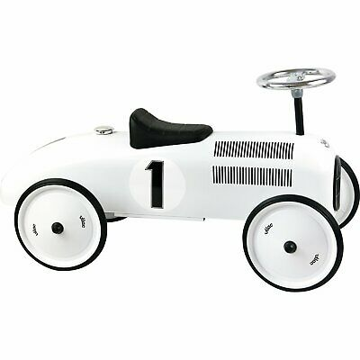 Vilac Polar White Ride-on Metal Car • 100£