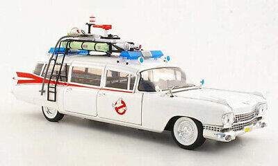 Ghostbusters Cadillac Ambulance Ecto 1 1:18 Scale Diecast Rare Model With Slimer • 109.99£