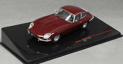 IXO Jaguar E-Type Coupe In Burgundy 1963 CLC339N  1/43 NEW 2020 Release • 27.99£