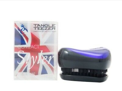 Tangle Teezer Compact Styler Detangling Hair Brush - Purple Dazzle • 10.50£