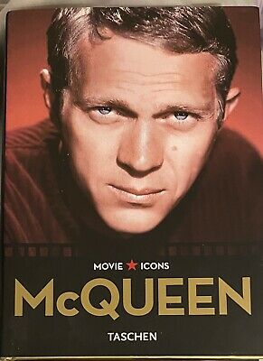£7.20 • Buy STEVE McQUEEN: Movie Icons By Alain Silver; LN Hardcover Book