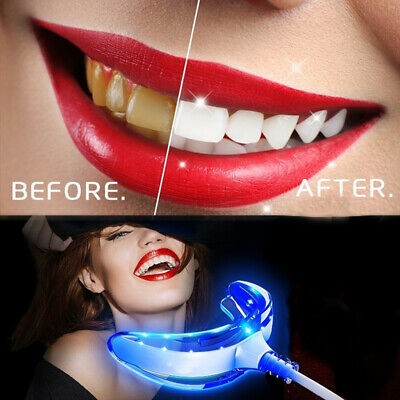 AU5.37 • Buy Home Teeth Whitening Kit Tooth Whitener Bleaching  Dental Light Mouth Tray