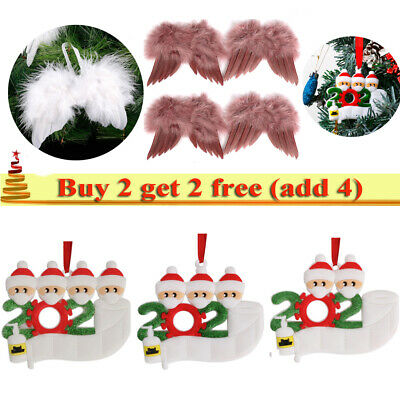 2020 DIY Family Christmas Xmas Tree Bauble Decoration Ornament Family Gift UK • 2.99£