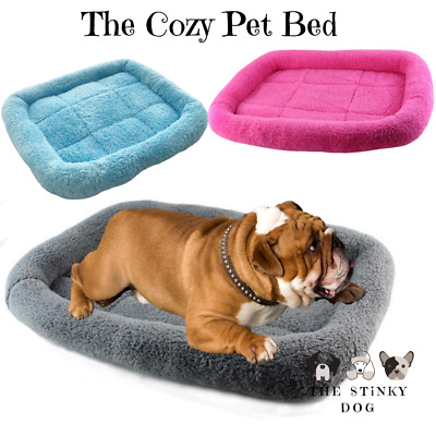 Dog Beds Large XL Pet Cat Small Medium Calming Warm Comfy Plush Fluffy Luxury  • 11.99£