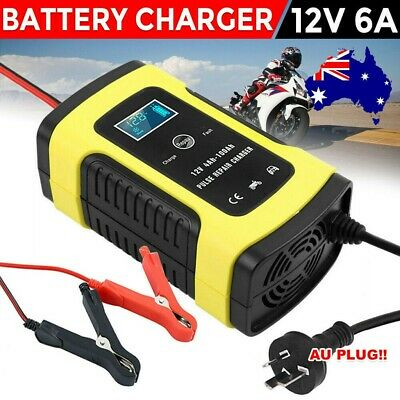 AU22.50 • Buy 12V Battery Charger Trickle Maintainer Volt 6 Stage Car Truck Motorcycle Mower
