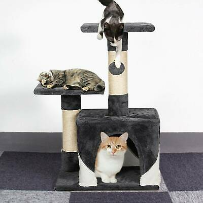 Cat Tree Small Scratching Grab Climbing Activity Post Gym House Play Furniture • 21.89£