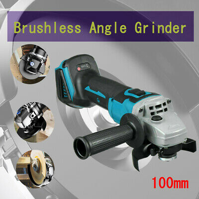 4inch Brushless Angle Grinder Cutting Tool 18V 10000RPM Machine Polisher Wheel • 43.38£