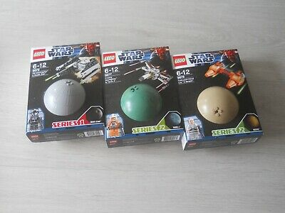 LEGO Star Wars 9676, 9677, 9678, New, Sealed, Retired Sets,Planets, • 66£