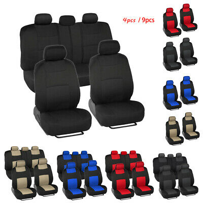 $ CDN52.38 • Buy Auto Seat Covers For Car Truck SUV Van Universal Protectors Polyester 5 Colors