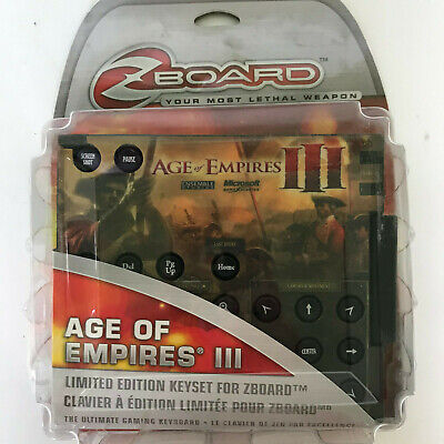 £18 • Buy Age Of Empires 3 Keyset For Zboard Brand New In Package
