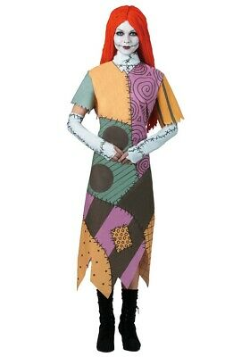 £28.94 • Buy The Nightmare Before Christmas Sally Adult Women's Costume Plus Size XXL 22-24