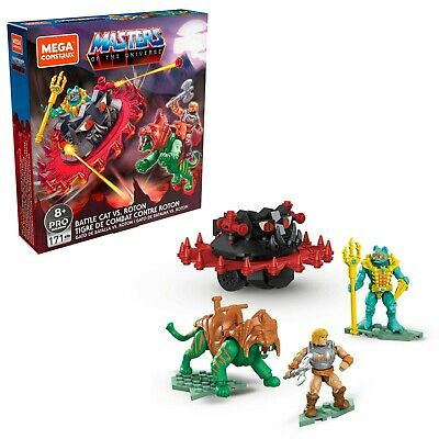$34.95 • Buy Mega Construx Pro Masters Of The Universe - He-Man Battle Cat Vs. Roton Set
