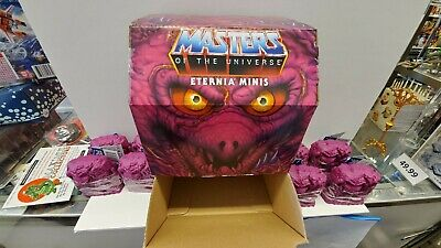 $79.98 • Buy Masters Of The Universe Eternia Minis Lot Wave 2 Set Of 8 Figures MOTU New