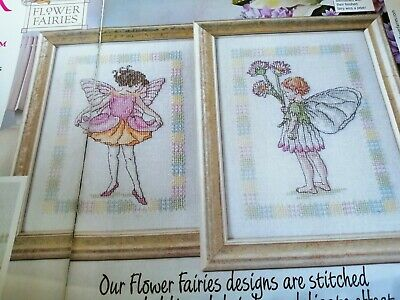 Cross Stitch Chart  2 Flower Fairy Fairies Charts Only Sweet Pair Charts  • 1.50£