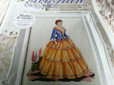 Cross Stitch Chart Victorian Lady Chart Historical Woman Lady  Chart • 1.50£