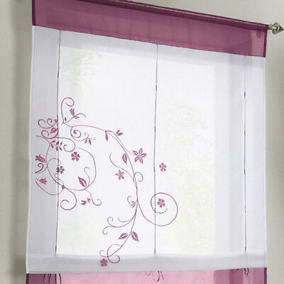 Tulle Curtains Yarn Window Sheer Living Room Kitchen Bedroom Net Screen LC • 5.54£