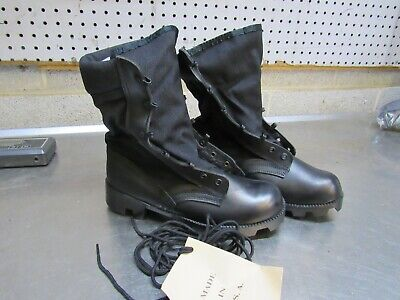 $15 • Buy US GI Military Black Jungle Combat Boots NEW US MADE {5W}