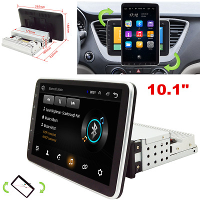 $207.80 • Buy 1Din 10.1inch Android 9.0 Quad Core HD Car Radio In-Dash Stereo GPS 2G+32G Wifi
