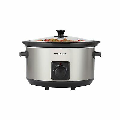 Morphy Richards 461013 6.5L Ceramic Slow Cooker 3 Settings • 34.99£