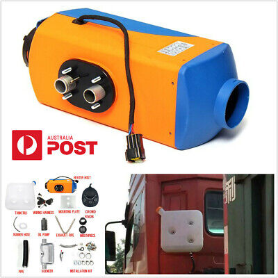 AU161.93 • Buy For Car Truck Motor-homes Bus Van 3KW-5KW 12V Air Diesel Heater Button Switch