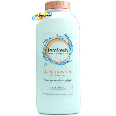 Femfresh Intimate Hygiene Talc Free Lightly Fragranced Absorbent Powder 200g • 8.90£