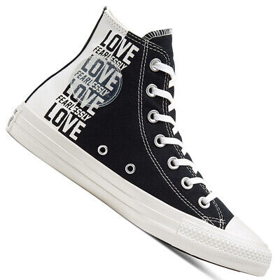 Converse Chuck Taylor All Star Chucks High Sneaker Love Fearlessly Shoes Heart • 68.21£
