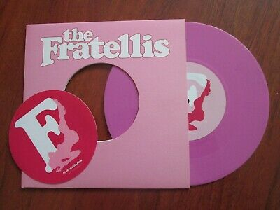 The Fratellis – The Fratellis EP  [7  PINK VINYL] MINT AND UNPLAYED • 10.99£