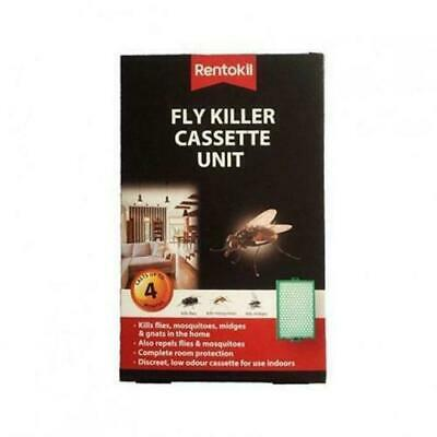 1 X Rentokil Fly Killer Cassette Unit Kills Flies Mosquitoes Moth Midges Insect • 3.40£