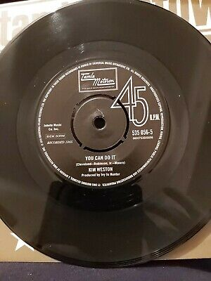 KIM WESTON - You Can Do It / SPINNERS More Than Friends MINT N.SOUL 45 RARE • 55£