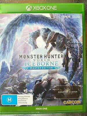 AU65 • Buy Monster Hunter World: Iceborne Master Edition Xbox One Like New Free Post.