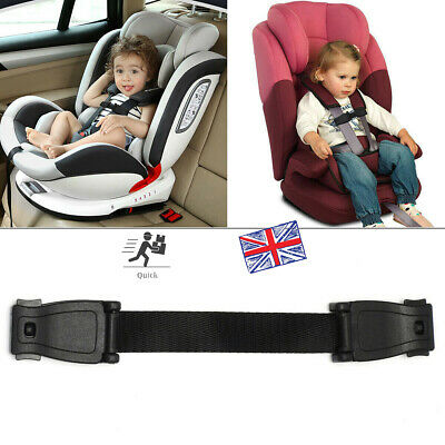 Car Safety Seat Strap Buggy Harness Lock Buckle Highchair Anti Escape Chest Clip • 5.46£