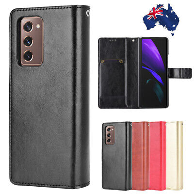 AU26.99 • Buy For Samsung Galaxy Z Fold 2 5G Case Book Style Leather Wallet Card Flip Cover