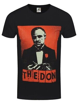 The Godfather T-shirt The Don Men's Black • 16.25£