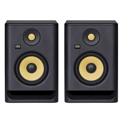 KRK Rokit RP5 G4 Active Studio Monitors (Pair) (NEW) • 318£